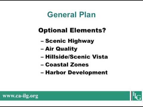 Land Use General Plans