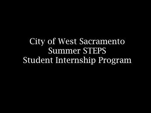 West Sacramento: Steps Towards Entering Public Service